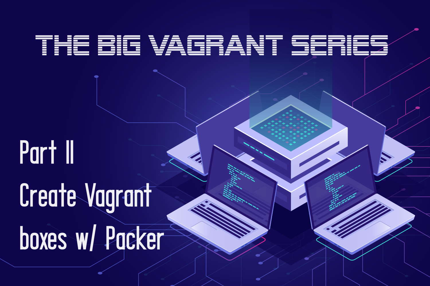 Create a Vagrant box with Packer