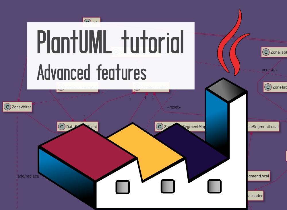 PlantUML advanced features