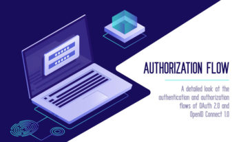 Authorization flow with OAuth 2.0 and OpenID connect